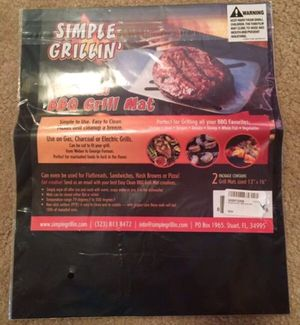 BBQ grill mat for Sale in Seattle, WA