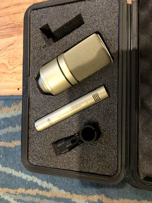 MXL Condenser Mics with Case for Sale in Pittsburgh, PA