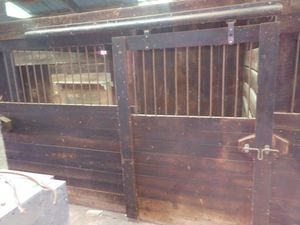 Old horse stable doors and rails. for Sale in Chisago City, MN