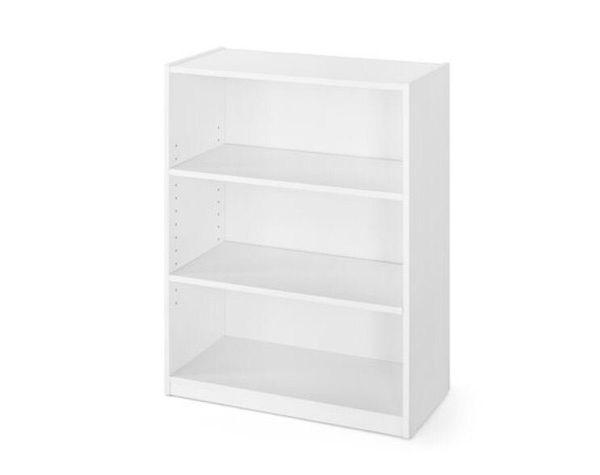 Brand New 3 shelf bookcase white