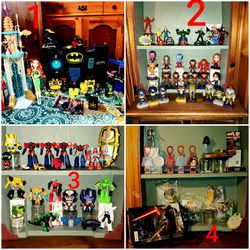 Super Hero Lots SELLING SEPARATELY for Sale in Cadillac,  MI