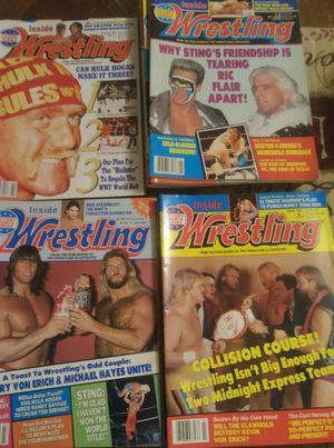 INSIDE WRESTLING MAGAZINES *1988-1992* for Sale in Winder, GA