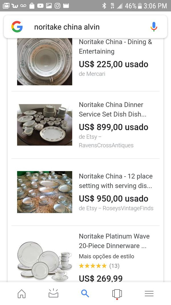 Full set Noritake china Alvin pattern