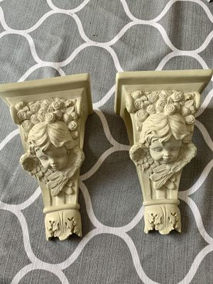 Angel curtain sconce pair for Sale in Murfreesboro, TN