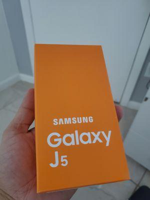 SAMSUNG GALAXY J5 16GB - FACTORY UNLOCKED - BRAND NEW SEALED IN BOX for Sale in Cutler Bay, FL