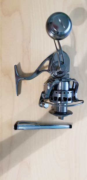 CNC T6061 Alu Saltwater Spinning Fishing Reel ASW4000 for Sale in Clearwater, FL