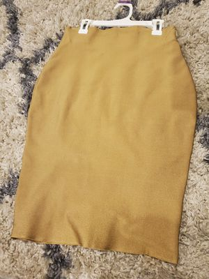 Akira Mustard pencil skirt for Sale in Chicago, IL
