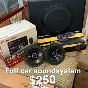 Car Soundsystem for Sale in Virginia Beach, VA