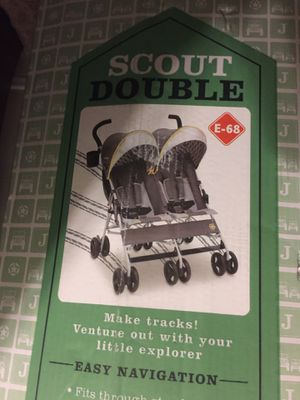 Jeep double stroller for Sale in Humble, TX