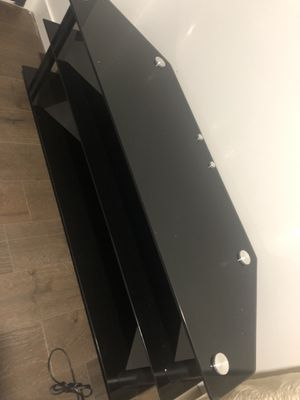 Glass TV stand (Never Used) 700$ value for Sale in New York, NY