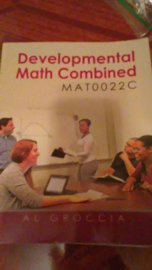 Development math book for Sale in Kissimmee, FL