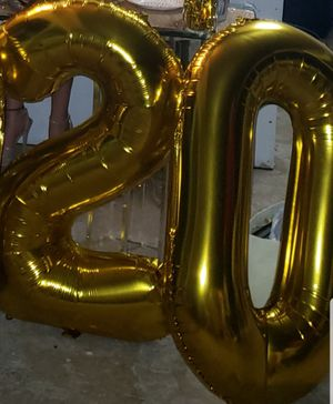 """33"""" number balloons for Sale in Margate, FL"""