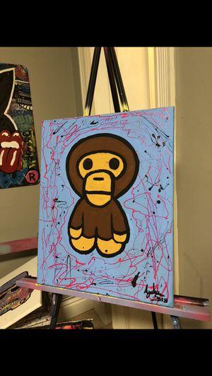 Baby Milo original painting for Sale in Miami, FL