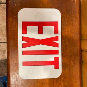Exit Sign New for Sale in Long Beach, CA