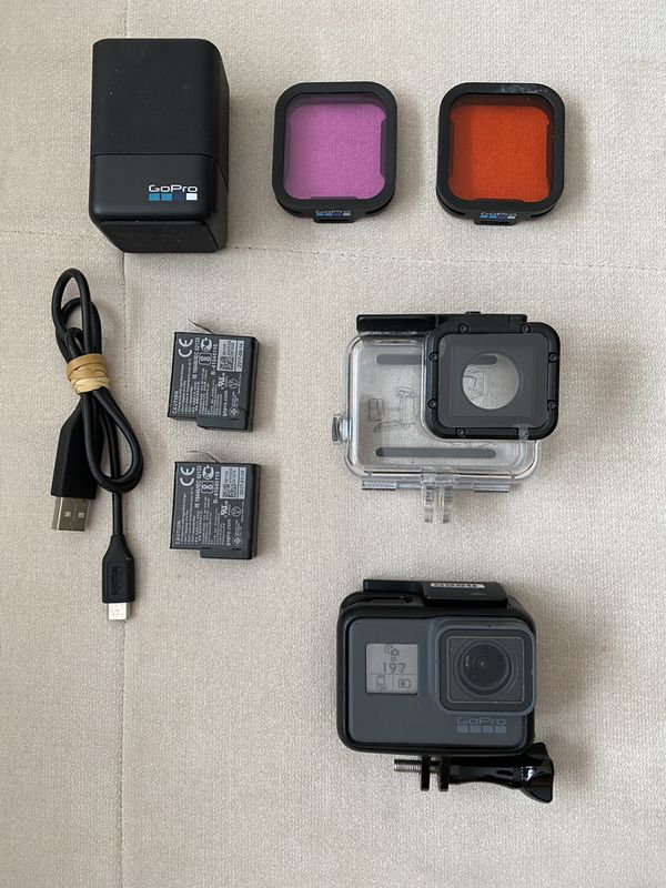 Gopro Hero 6 with Dive accessories
