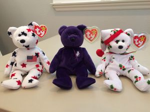 Princess, Glory and Holiday Beanie Babies for Sale in Rancho Santa Margarita, CA