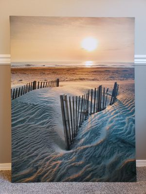 Beach Photo Print on Canvas for Sale in Beaverton, OR