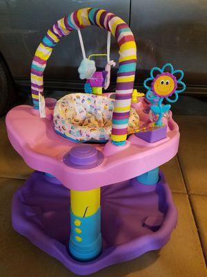 Girls baby bouncer activity toy for Sale in Queen Creek, AZ