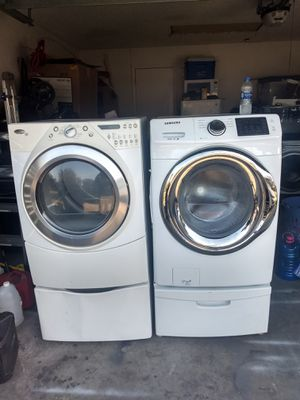 Samsung front load washer Whirlpool duet dryer for Sale in Kissimmee, FL