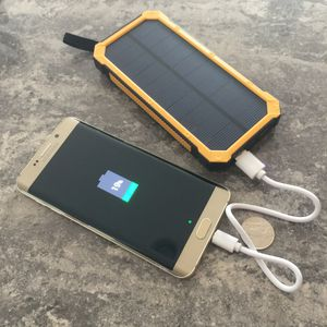 Rugged Waterproof 300000mAh Portable Solar Charger Dual USB Power Bank for Sale in Rockville, MD