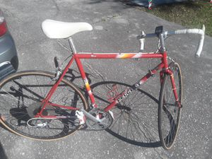 Peugeot Nice 12 speed Road bike, 56cm frame, 700 tires, Shimano SLR components, Look pedals. for Sale in Wesley Chapel, FL
