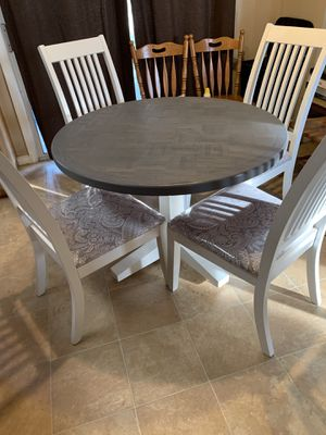 Refinished Stained Gray Table for Sale in Modesto, CA
