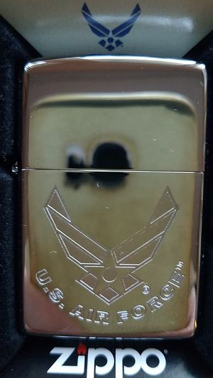 Zippo usaf high polished chrome engraved 29887 for Sale in Los Angeles, CA