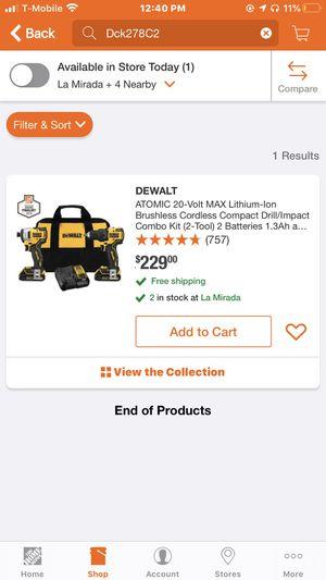 Dewalt drill for Sale in Whittier, CA
