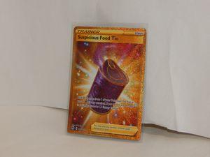 Pokemon - Champions Path - Suspicious Food Tin - Secret Rare 80/73 Pack Fresh for Sale in Tampa, FL