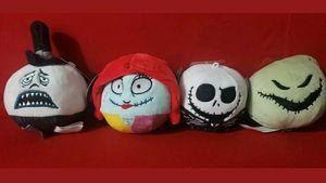 Nightmare Before Christmas Hallmark Fluffballs Full Set Plush for Sale in Houston, TX