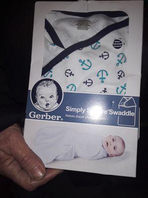 Gerber infant swaddler for Sale in Dallas, TX