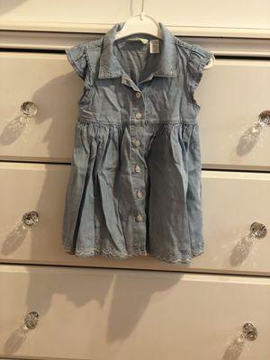 Baby girl denim dress for Sale in Los Angeles, CA