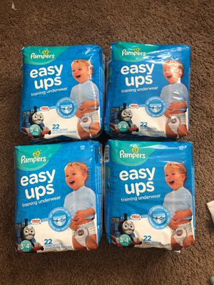 Pampers Easy Ups Thomas Diapers 3T-4T for Sale in Seattle, WA