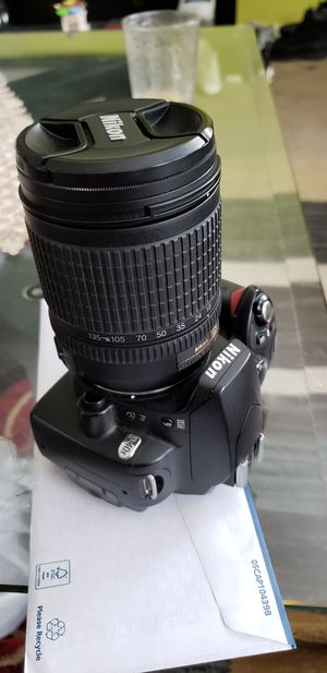 Nikon Dx40 camera with lense used for Sale in Woodbridge Township, NJ