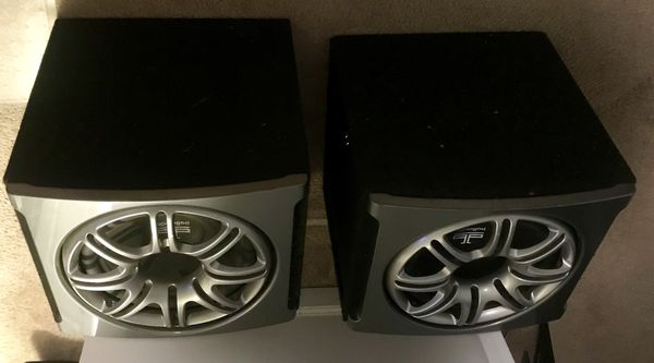 "Polk audio ""12"" inch subwoofers w/box's"