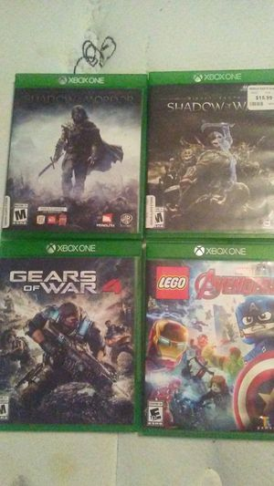 Xbox one games for Sale in Evergreen, CO