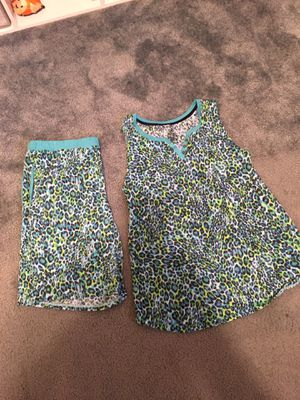 """Secret Treasures"" 2 pj sets, shorts and sleeveless top, green & blue Medium for Sale in Buena Park, CA"