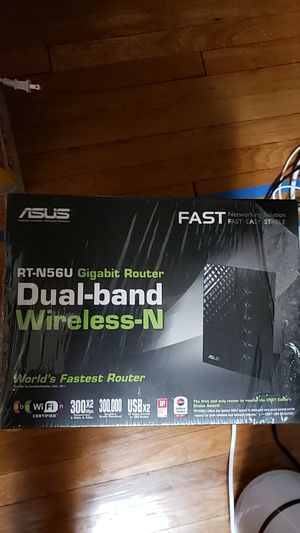 Asus RT-N56U dual-band wireless-N gigabit router for Sale in Boston, MA