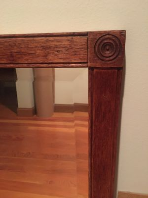 Antique, Beveled Mirror for Sale in Indianola, WA