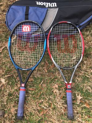 To have performance tennis rackets and a bag for Sale in High Point, NC
