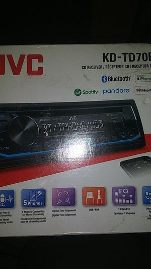 JVC Car Stereo system Bluetooth with hands free Mic. for Sale in Washington, DC