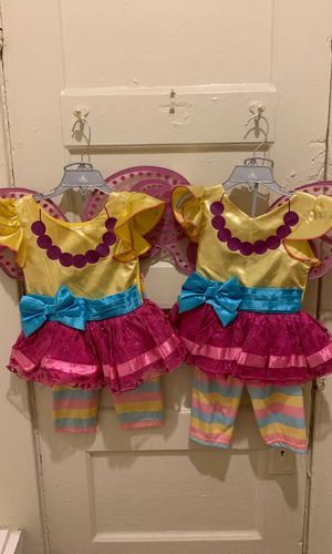 Two Disney store Fancy Nancy costume sizes 3t one time use only for Sale in Los Angeles, CA