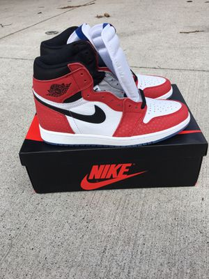 Air Jordan 1 Retro High Spider-Man Size 10 for Sale in New York, NY