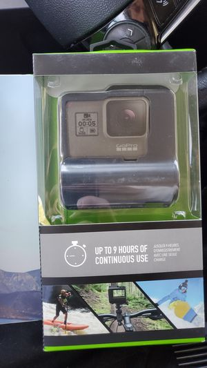 Factory sealed go pro hero 9 hour extended batter for Sale in San Francisco, CA