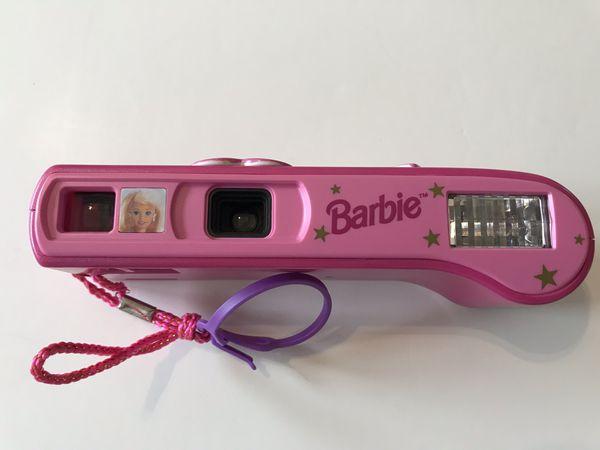 Vintage Hollywood Star Barbie Pink Camera Film 400 Gold Barbie Toy