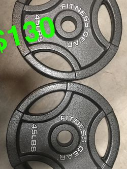 45 Lb Weight Plates for Sale in Fresno,  CA