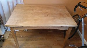 Wood Dining Table - Will Deliver for Sale in Sterling, VA