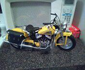 Diecast Indian motorcycle 16 inches long excellent condition for Sale in Philadelphia, PA