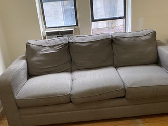 3 Seat Grey Couch for Sale in Brooklyn,  NY