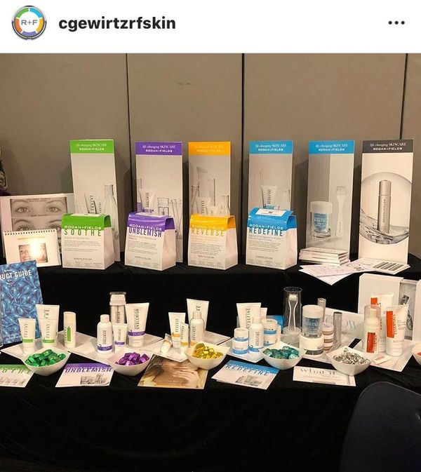 Rodan + Fields Skincare Products